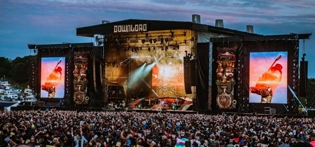 Download Festival day two, let's do this. Photo credit:James Bridle DOWNLOAD 2018