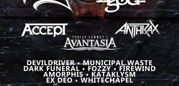 Joining King Diamond, Lamb of God and Anthrax at Bloodstock 2013, the iconic metal festival in Catton Park, Derbyshire are: Power metal supergroup, AVANTASIA, who will take Sunday's 'special guest' […]