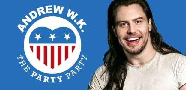 He's partied around the world, motivated many and now he's starting his own political party. Andrew W.K. is an unstoppable force with positivity constantly flowing through everything he does. We […]