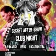 We can now reveal the secret location for the official PLACEBO X CALM aftershow club night….