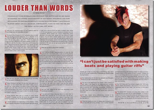 Celldweller_spread_from_issue_one
