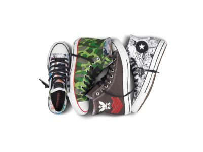 "They extolled the virtues of ""lead Nike shoes"" in 2001, and over ten years later, Gorillaz are lending their name to another leading footwear brand and a new product range. […]"