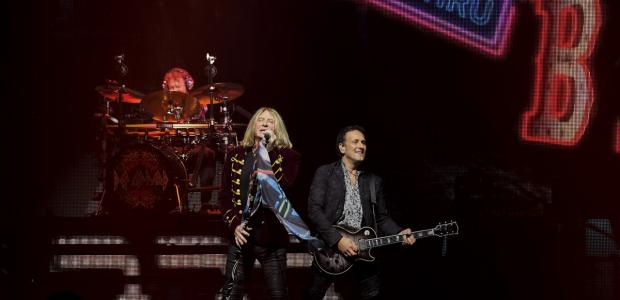 "Its Friday and it was certainly crackerjack time for the Def Leppard faithful. Currently, on a mammoth world tour celebrating 30 years since the release of the chart-topping ""Hysteria"" LP, the Sheffield boys have finally arrived for their hometown gig."