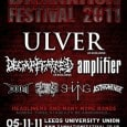 Avant-garde Norwegians Ulver will play their first and only UK show outside London when they headline the Terrorizer Stage at Damnation Festival. The experimental collective will top the bill in […]