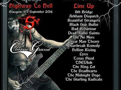 Highway to Hell 5 , Hard Rock Hell's very own Rock Factor will be taking place on September 6 and 7 at Classic Grand Glasgow, where 20 rock and metal finalists […]