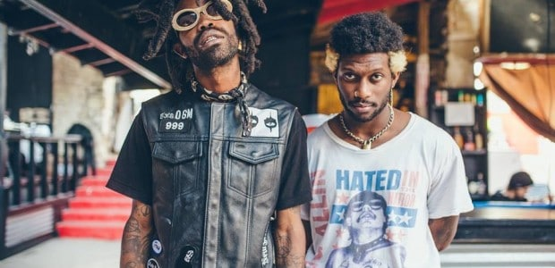 Maaaan, this is some good shit. Check out L.A. by way of New Jersey hip hop/punk mutants, Ho99o9 who have announced their 'Horrors of 1999' EP to be released June 8, via FAMILY.