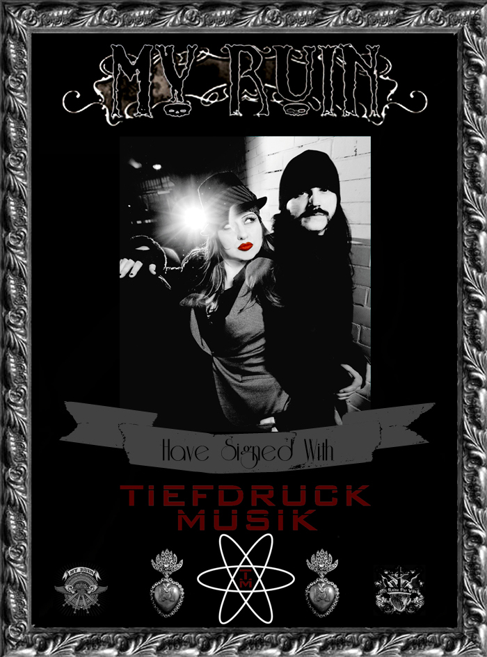 MyRuin_sign_to_TiefdruckMusik