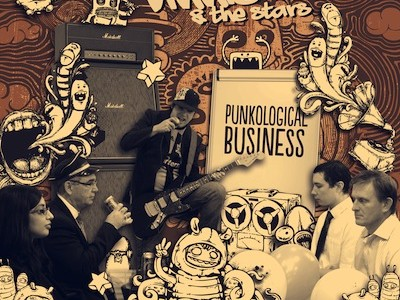 """Vinnie & The Stars are set to release their new album 'Punkological Business' in March 2013. The hip-hop-blues band fronted by Craig """"Vinnie"""" Whitehead, have returned with a great CD […]"""