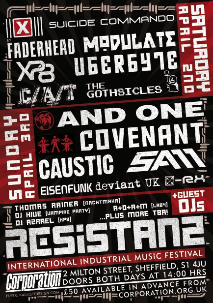 Resistanz-poster