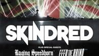 We have two pairs of tickets, two Raging Speedhorn shirts and two copies of their new album 'Lost Ritual' for the upcoming Skindred and Speedhorn show in York!