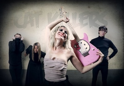 """For our next Reverbnation spotlight, we chat to Rat Westlake of Gothenburg-based band, The Cat Killers. S] What, or who are your great musical inspirations? R] """"Some of them are: […]"""