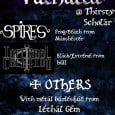 A brand new metal night called 'Valhalla' will be launching in Manchester with a live showcase on December 8, 2010.