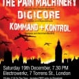 Our friends in Armalyte are putting on a fantastic show in December. The gig will feature The Pain Machinery, Kommand + Kontrol and York-based band Digicore so it's definitely worth […]