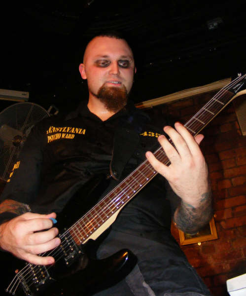CK Rocking out live - Photo from Darknightz