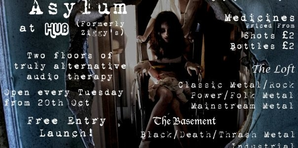 Next week (on Tuesday October 20, 2009) 'The Asylum' will open its doors to York's alternative crowd. Based at Hub (formerly Ziggy's) and organised by the University Of York's rock […]
