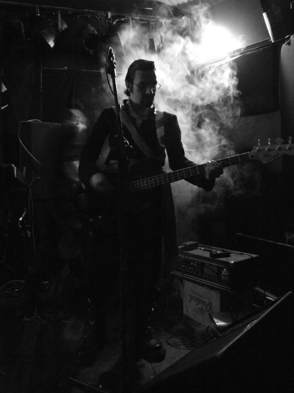 Tim on bass