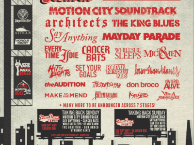 """The second announcement of bands for Slam Dunk Festival 2012 has been made. There will also be a """"stripped down"""" Slam Dunk Festival in Cradiff, Wales (May 28) and also […]"""