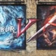 The release of the new Soul Calibur game has inspired a team of graffiti artists to create a mural on a suburban London road.