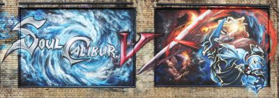 The release of the new Soul Calibur game has inspired a team of graffiti artists to create a mural on a suburban London road. Located along Great Eastern Street in […]