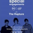 It's been announced The Rapture are taking part in an interactive online concert where the audience get a chance to shape how the gig is played out.