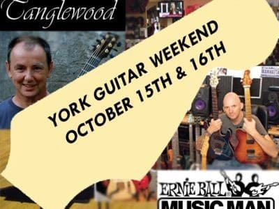 """An October weekend is set aside to celebrate the impact of the world's most recognisable stringed instrument on the musical culture of York and beyond.  """"The guitar is God's […]"""