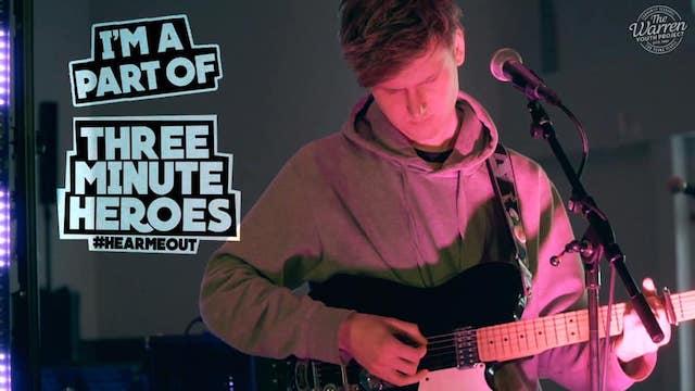 Watch Joe Russell-Brown's 'Nausea / Fatigue' in support of Three Minute Heroes Vol 2.
