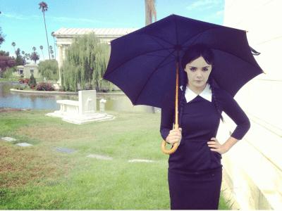 Adult Wednesday Addams