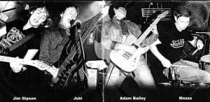 L-R Jim, Jobi, Adam, Mezza