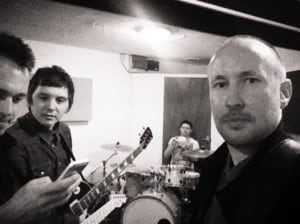 Black Night Crash In The Studio 2014