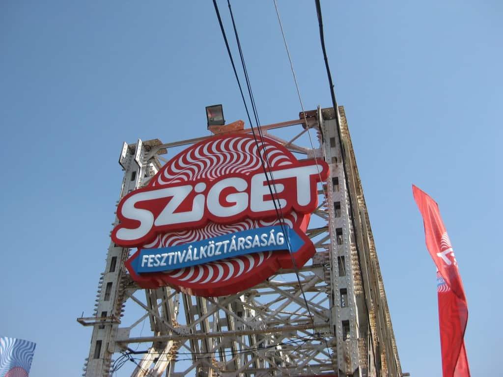 Sziget Festival Banner
