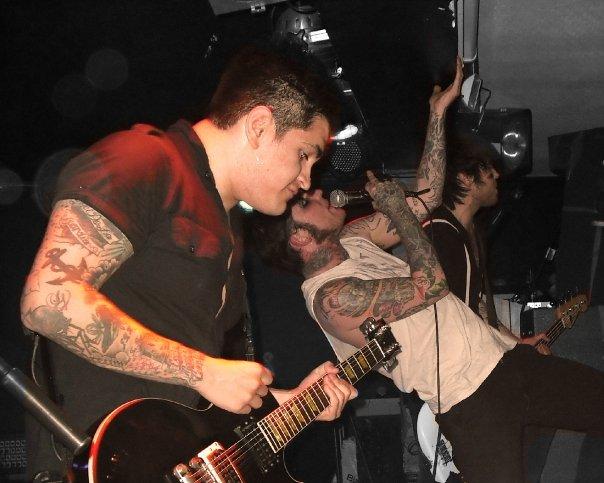 The band unleash hell upon York...