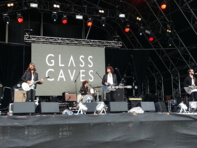 The Glass Caves open the main arena stage on Sunday